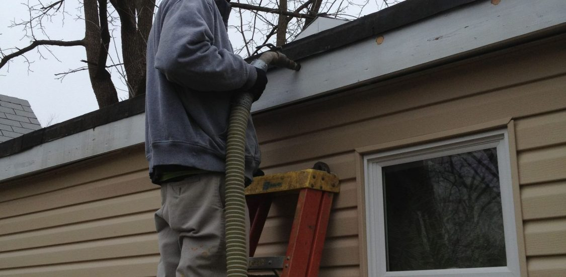 insulation - drill and blow